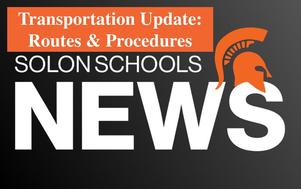 Solon CSD Transportation Update