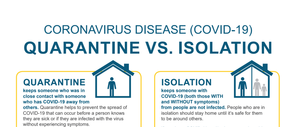 Quarantine vs. Isolation: What's the Difference?