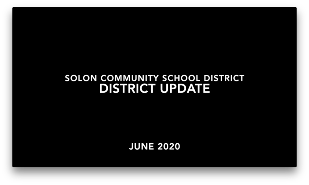 SCSD District Update - June 2020