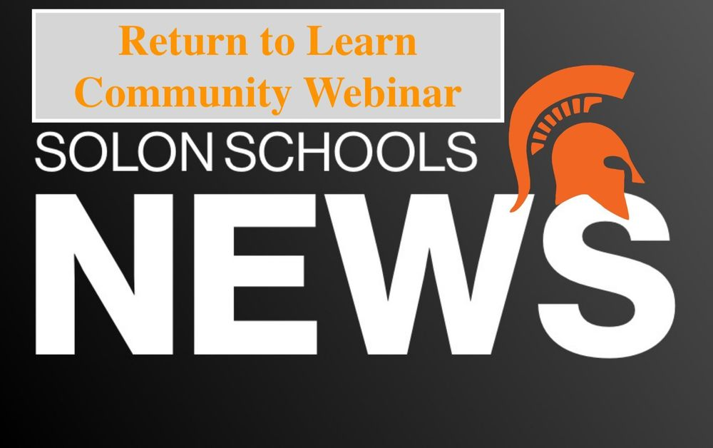 Solon Return to Learn Information