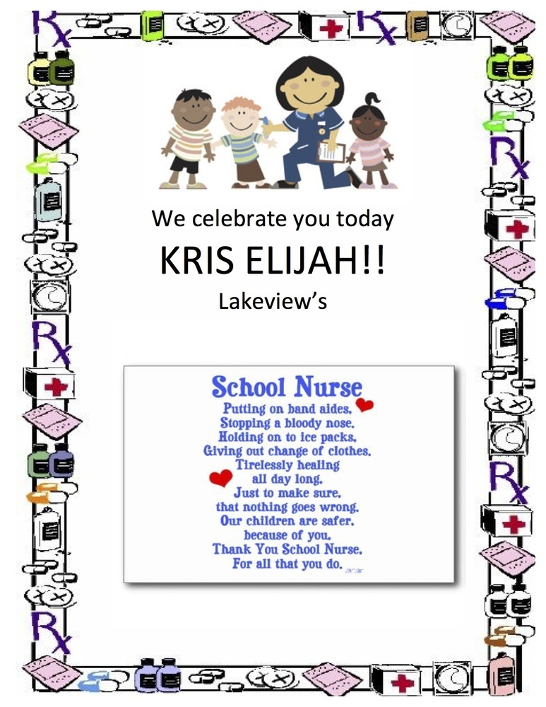Happy School Nurse's Day!