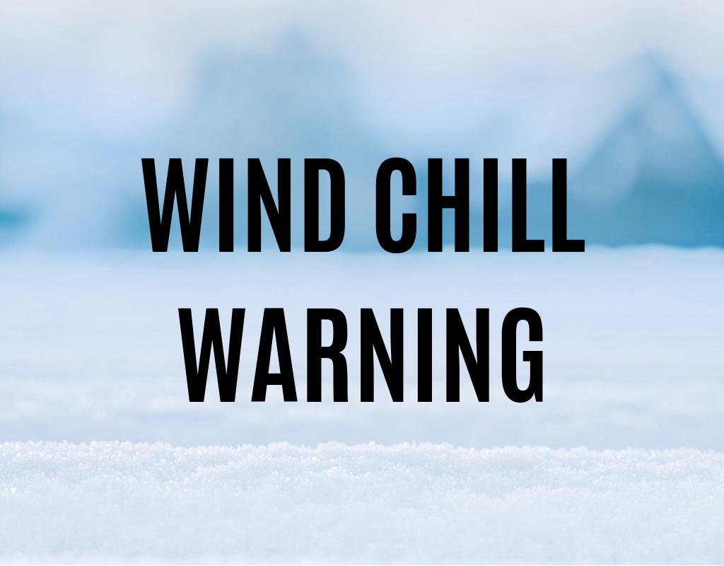 windchill warning
