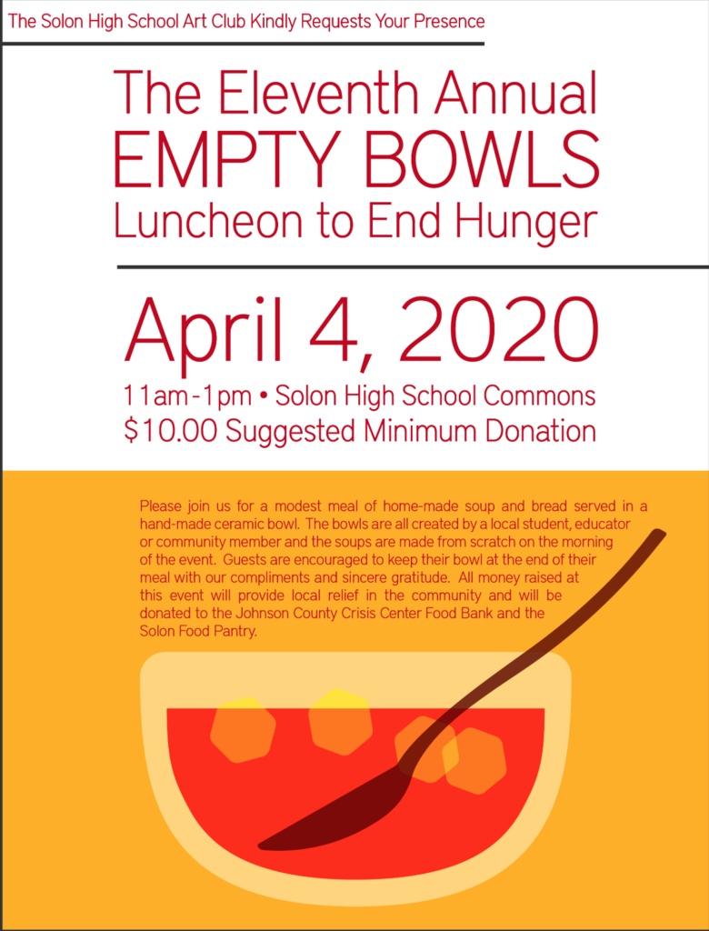 Empty Bowls-Save the date