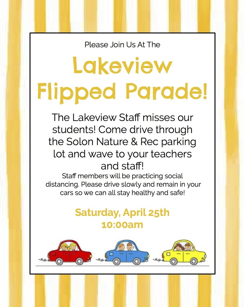 Lakeview Flipped Parade!