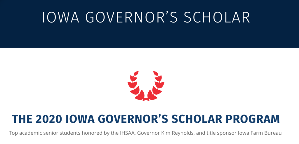 Iowa Governor's Scholar